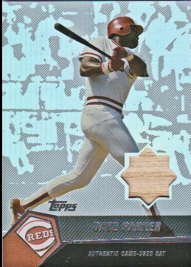 2004 Topps Clubhouse Relics #DP Dave Parker Bat A/292