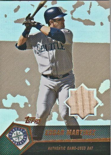 2004 Topps Clubhouse Copper Relics #EMA Edgar Martinez Bat
