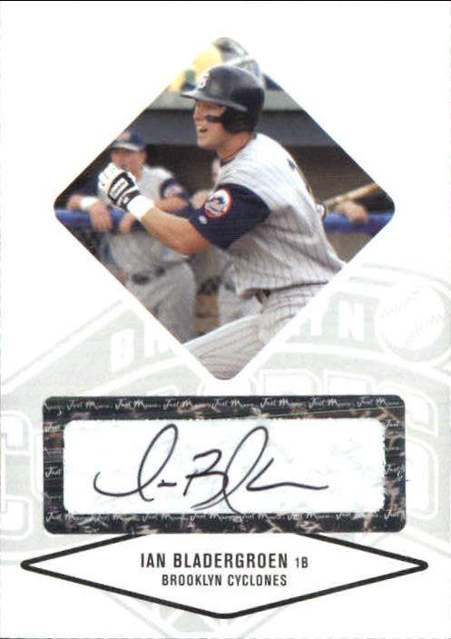 2004 Justifiable Autographs #6 Ian Bladergroen/825 * LATE