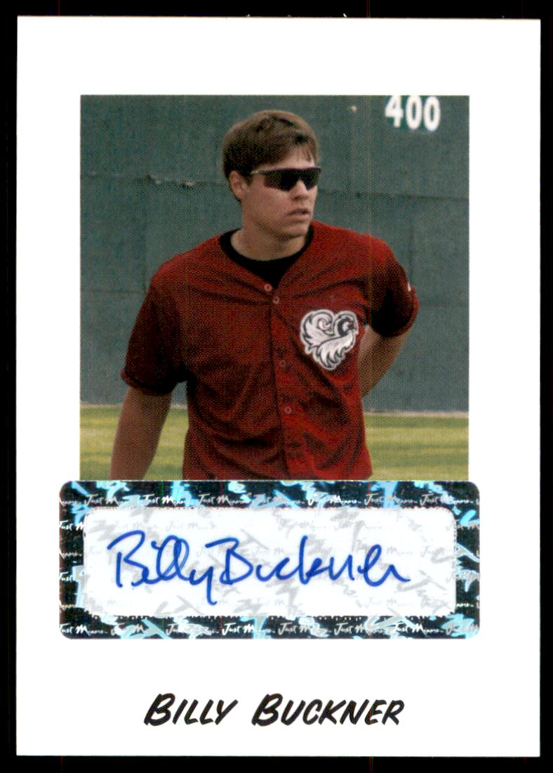 2004 Just Rookies Autographs #10 Billy Buckner/825 *
