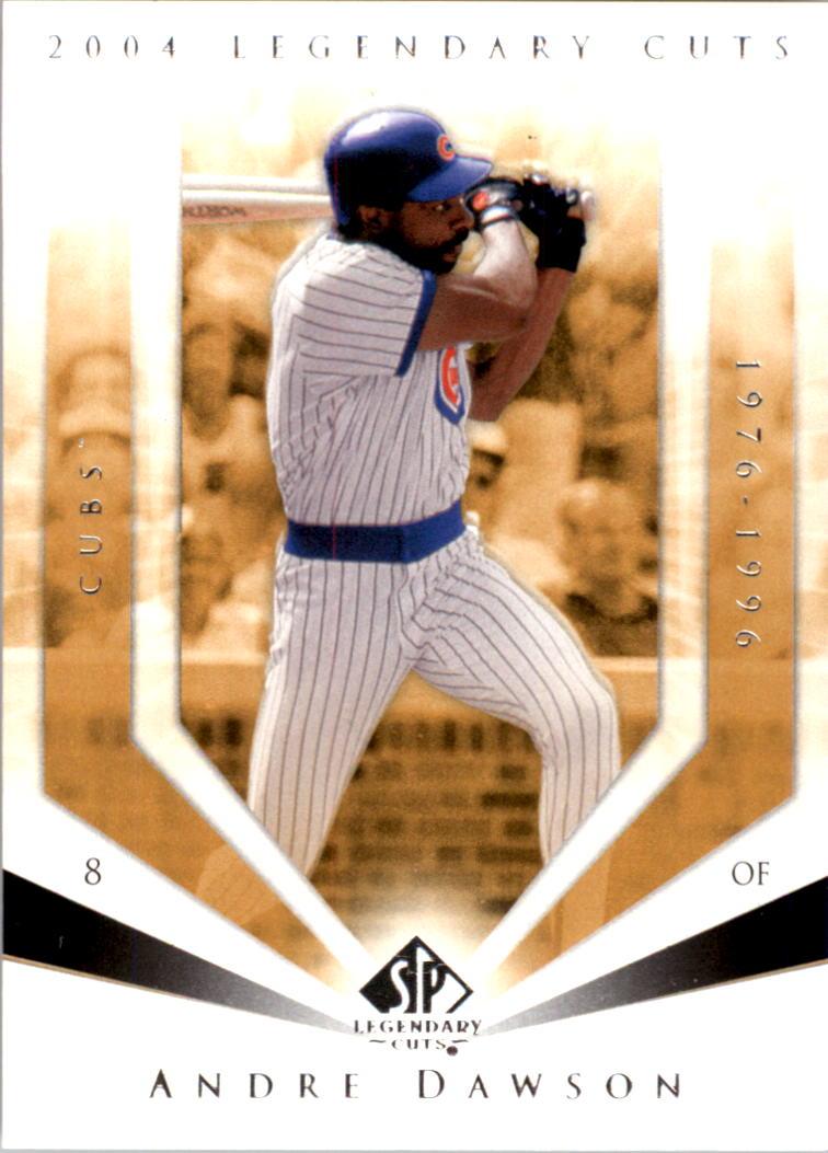 2004 SP Legendary Cuts #4 Andre Dawson