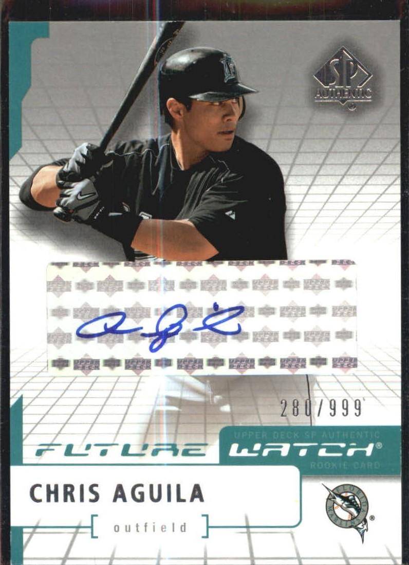 2004 SP Authentic Future Watch Autograph #94 Chris Aguila FW