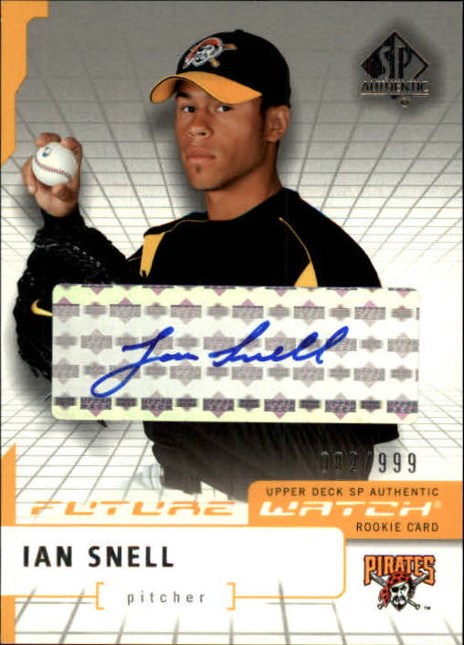 2004 SP Authentic Future Watch Autograph #106 Ian Snell FW