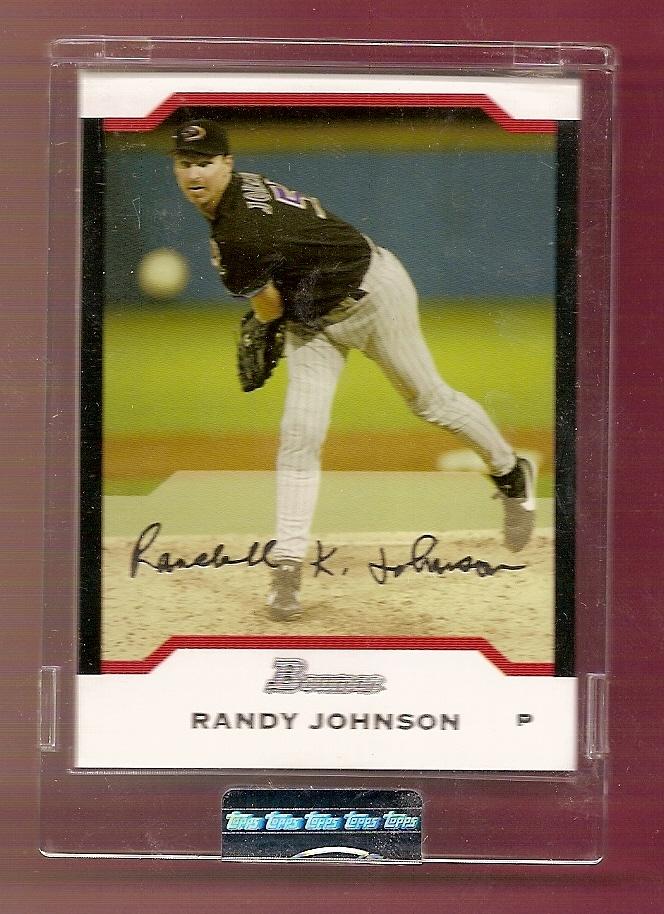 2004 Bowman Uncirculated Silver #8 Randy Johnson