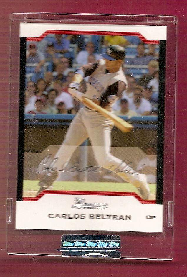 2004 Bowman Uncirculated Silver #28 Carlos Beltran