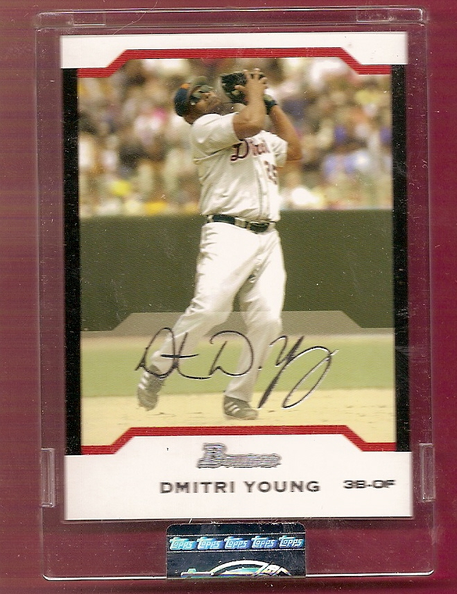 2004 Bowman Uncirculated Silver #38 Dmitri Young