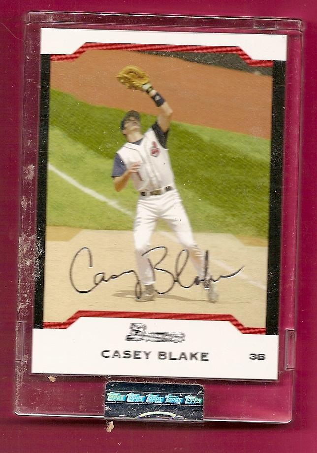 2004 Bowman Uncirculated Silver #51 Casey Blake