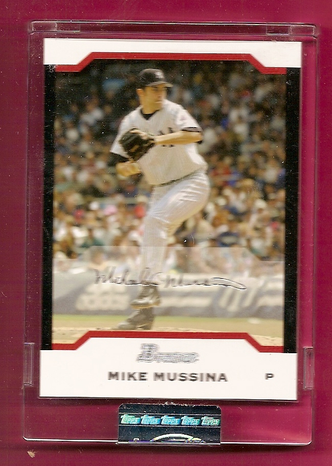 2004 Bowman Uncirculated Silver #55 Mike Mussina