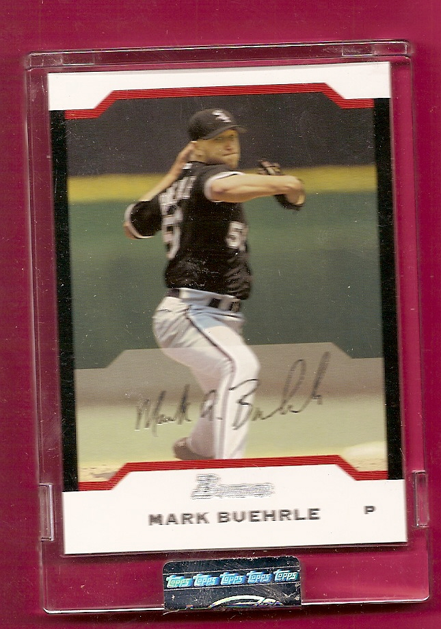 2004 Bowman Uncirculated Silver #57 Mark Buehrle