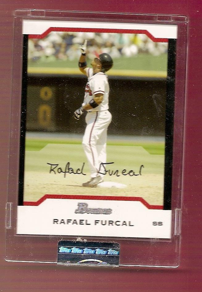 2004 Bowman Uncirculated Silver #60 Rafael Furcal
