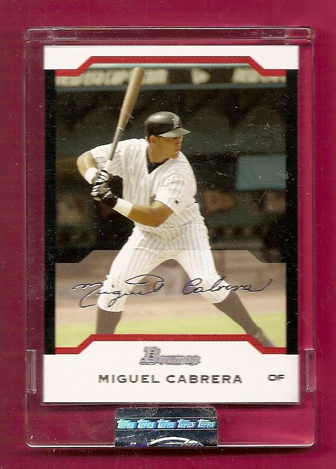 2004 Bowman Uncirculated Silver #61 Miguel Cabrera