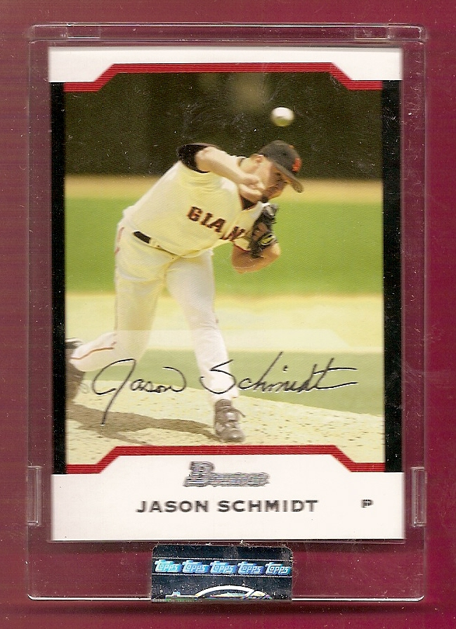 2004 Bowman Uncirculated Silver #66 Jason Schmidt