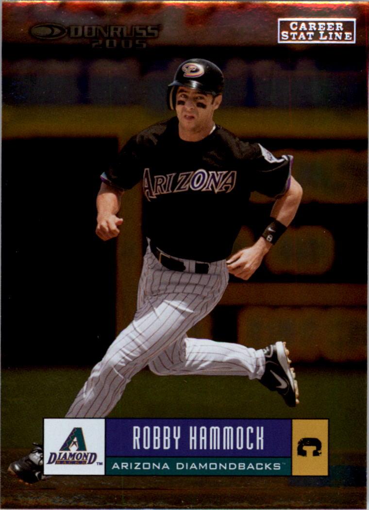 2005 Donruss Stat Line Career #90 Robby Hammock/262