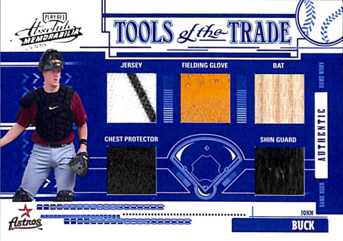 2005 Absolute Memorabilia Tools of the Trade Swatch Five Reverse #134