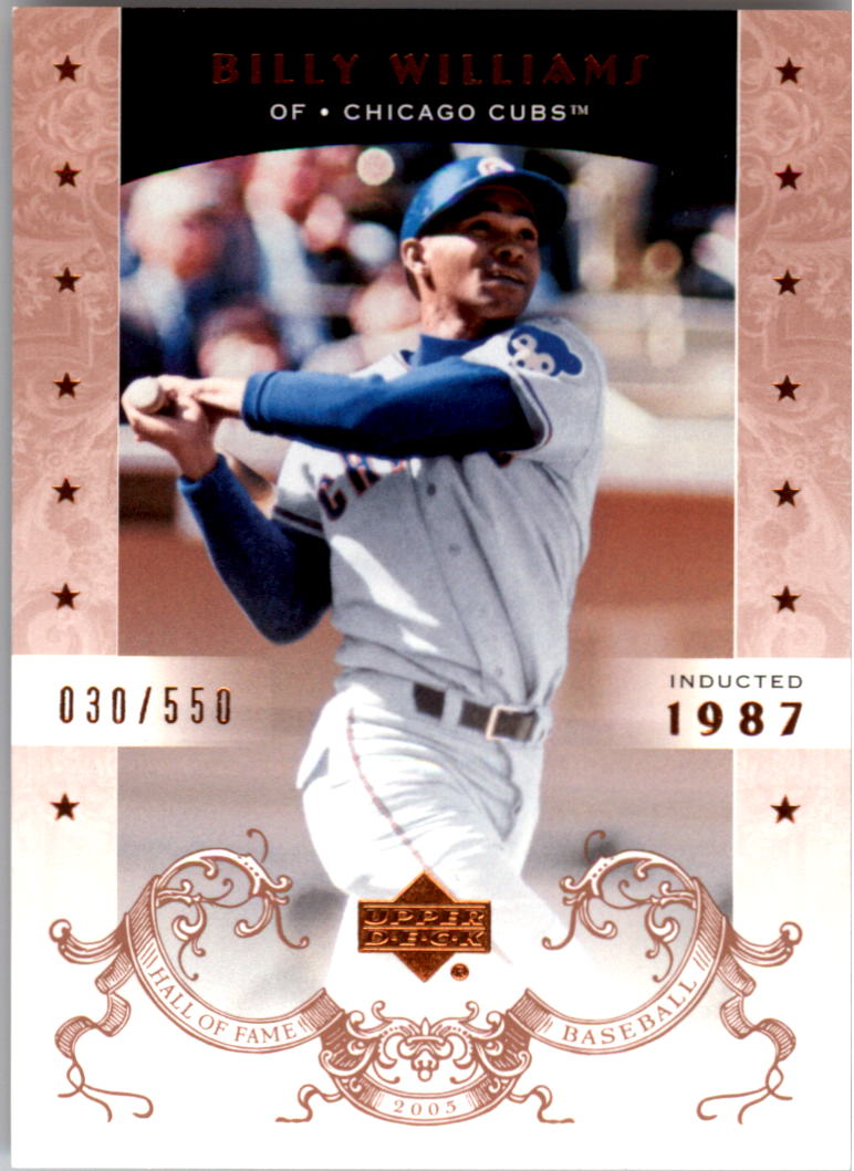 2005 Upper Deck Hall of Fame #4 Billy Williams