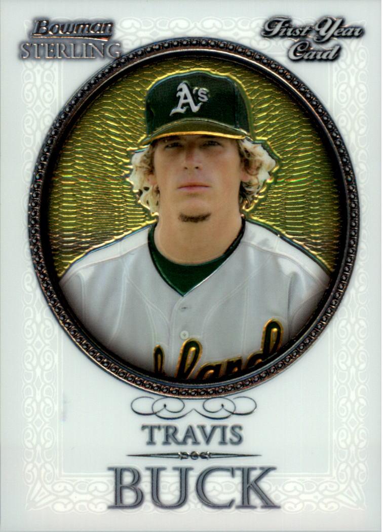 2005 Bowman Sterling #TBU Travis Buck RC