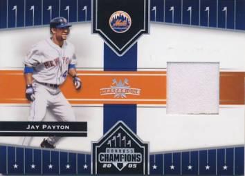 2005 Donruss Champions Impressions Material #34 Jay Payton Jsy T5