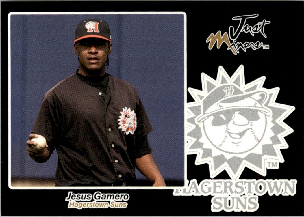 2005 Just Autographs Black #22 Jesus Gamero