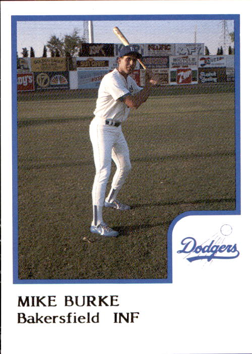 1986 Bakersfield Dodgers ProCards #4 Mike Burke