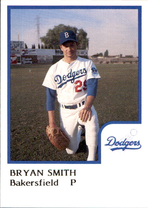 1986 Bakersfield Dodgers ProCards #25 Bryan Smith