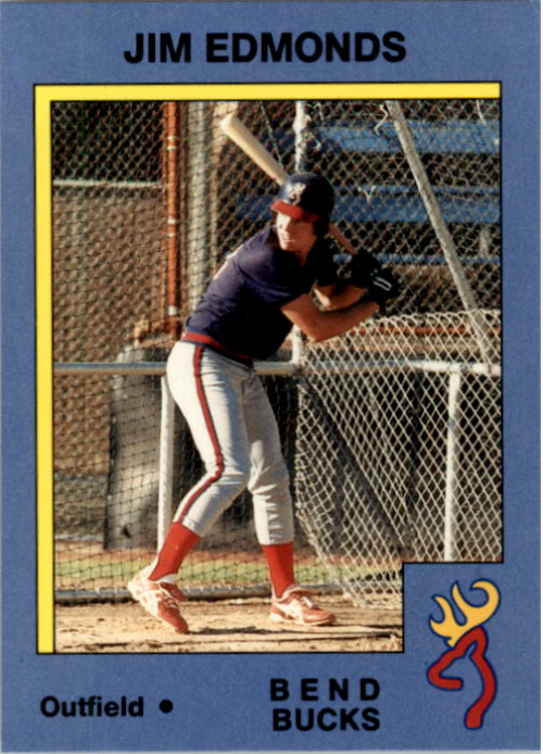 1988 Bend Bucks Legoe #10 Jim Edmonds