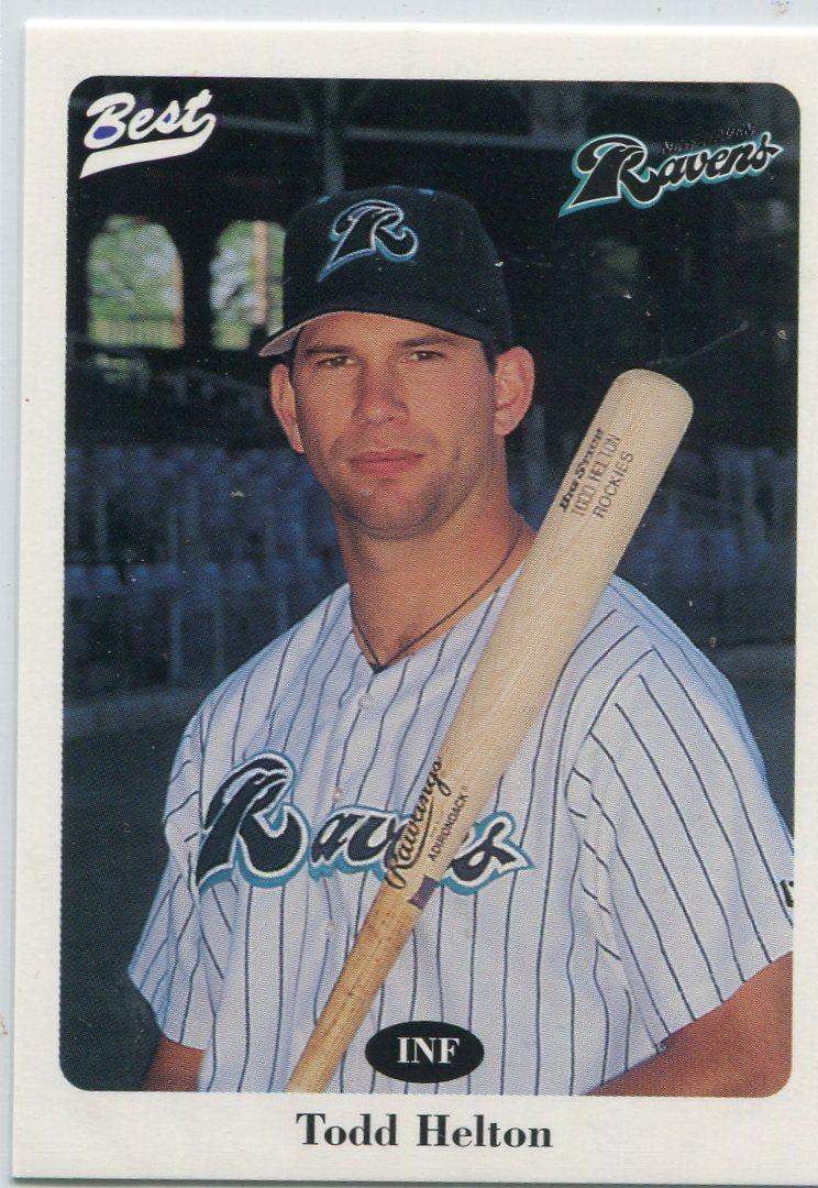 1996 New Haven Ravens Best #13 Todd Helton