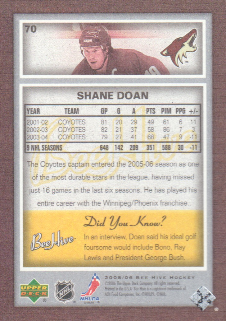 Details about 2005-06 Beehive Hockey Cards Pick From List