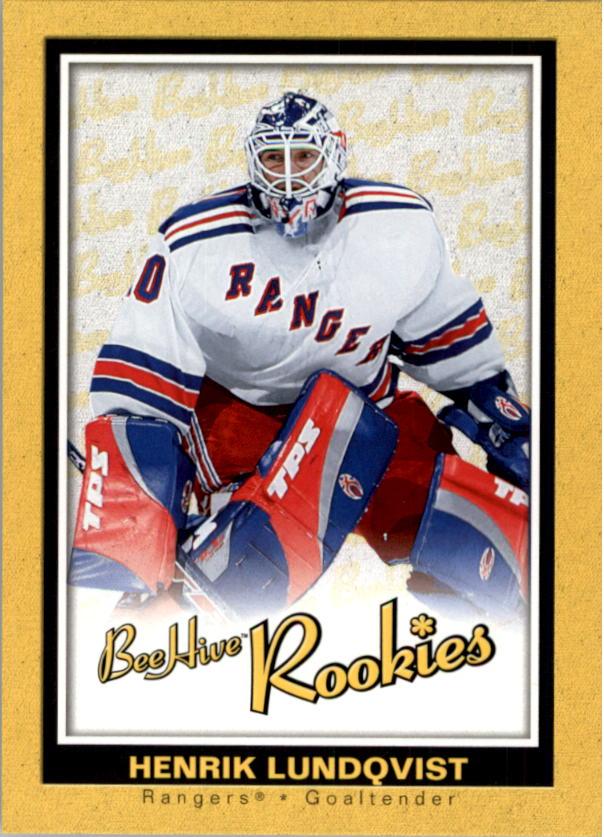 2005-06 Beehive #126 Henrik Lundqvist RC