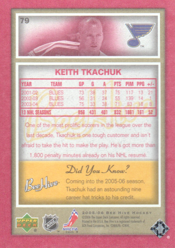2005-06-Beehive-Red-Parallel-Hockey-Cards-Pick-From-List miniature 21