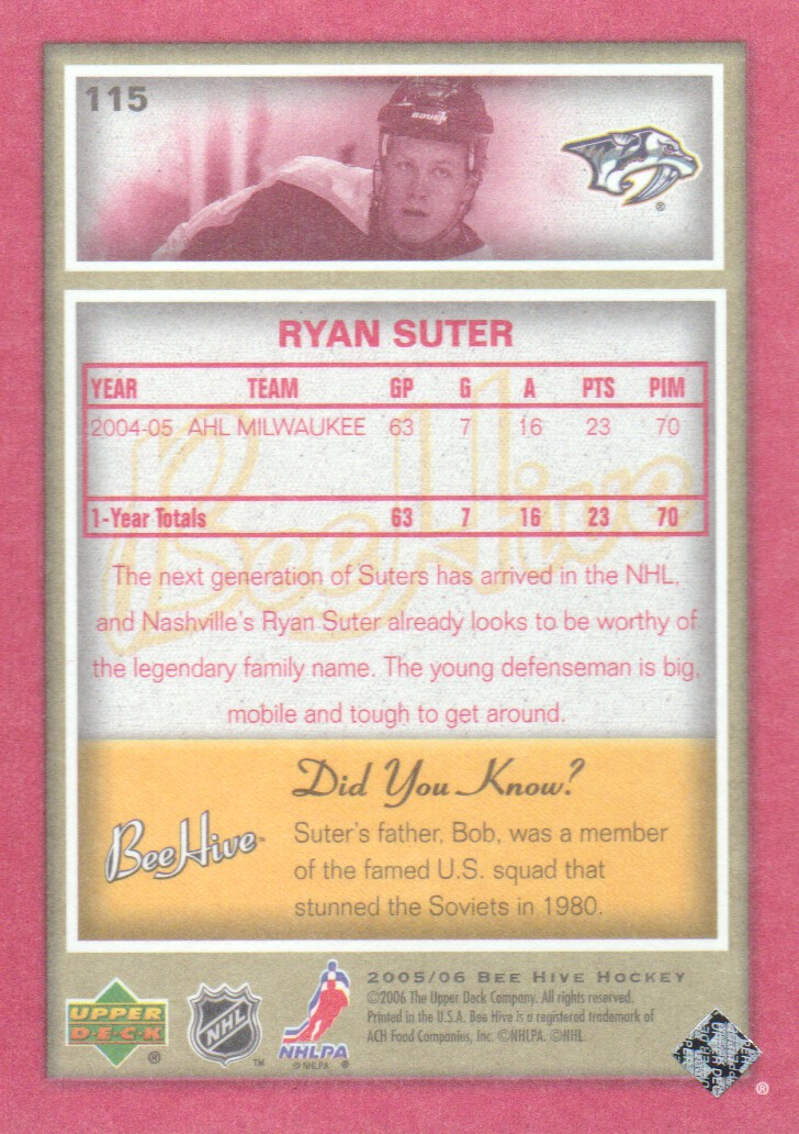 2005-06-Beehive-Red-Parallel-Hockey-Cards-Pick-From-List miniature 27