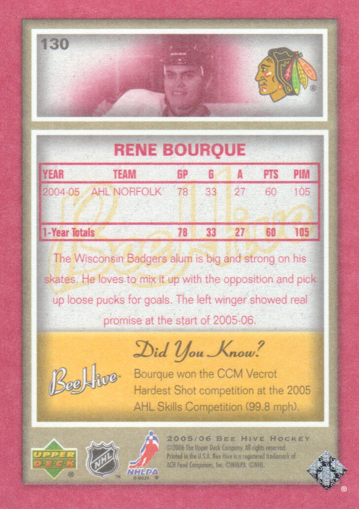 2005-06-Beehive-Red-Parallel-Hockey-Cards-Pick-From-List miniature 33