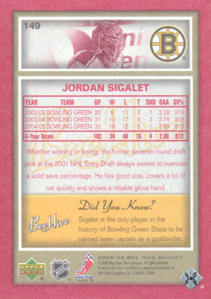 2005-06-Beehive-Red-Parallel-Hockey-Cards-Pick-From-List miniature 39