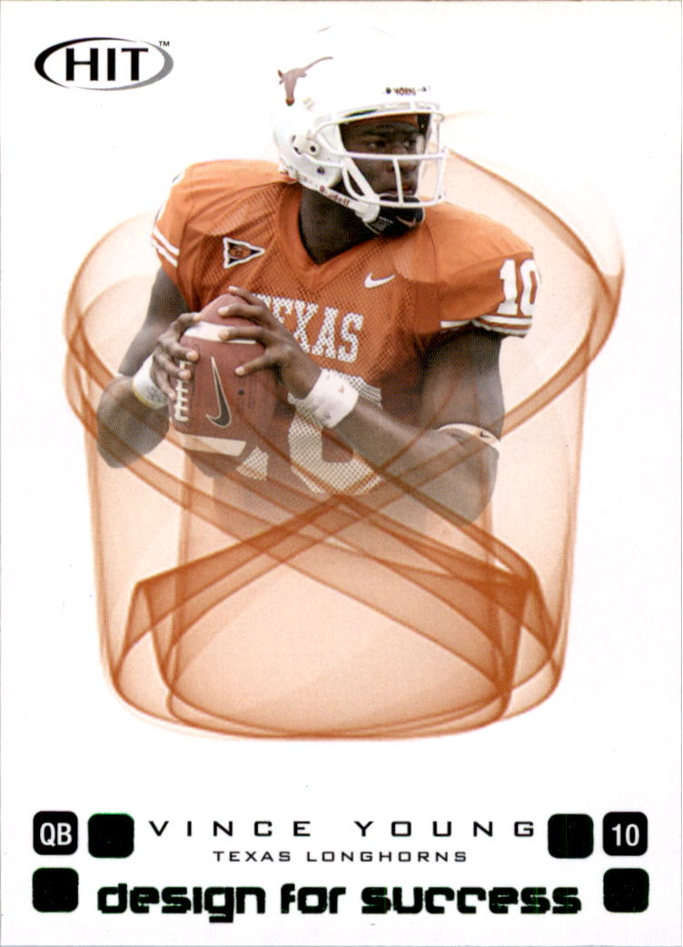 2006 SAGE HIT Design for Success Green #D10 Vince Young