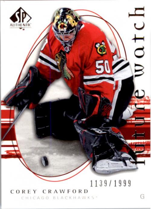 2005-06 SP Authentic #257 Corey Crawford RC