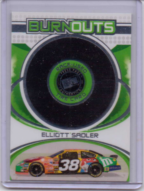 2006 Press Pass Burnouts #HT13 Elliott Sadler
