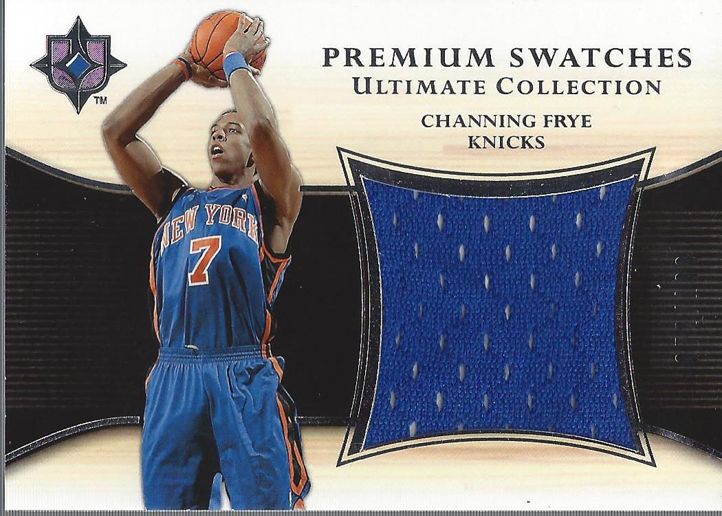 2005-06 Ultimate Collection Premium Swatches #PSCF Channing Frye