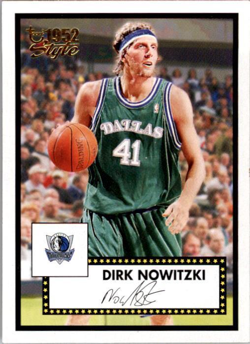 2005-06 Topps Style #46 Dirk Nowitzki