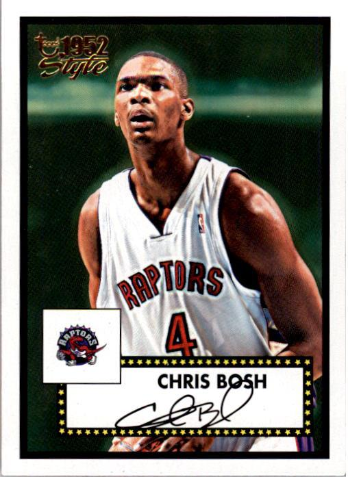 2005-06 Topps Style #129 Chris Bosh