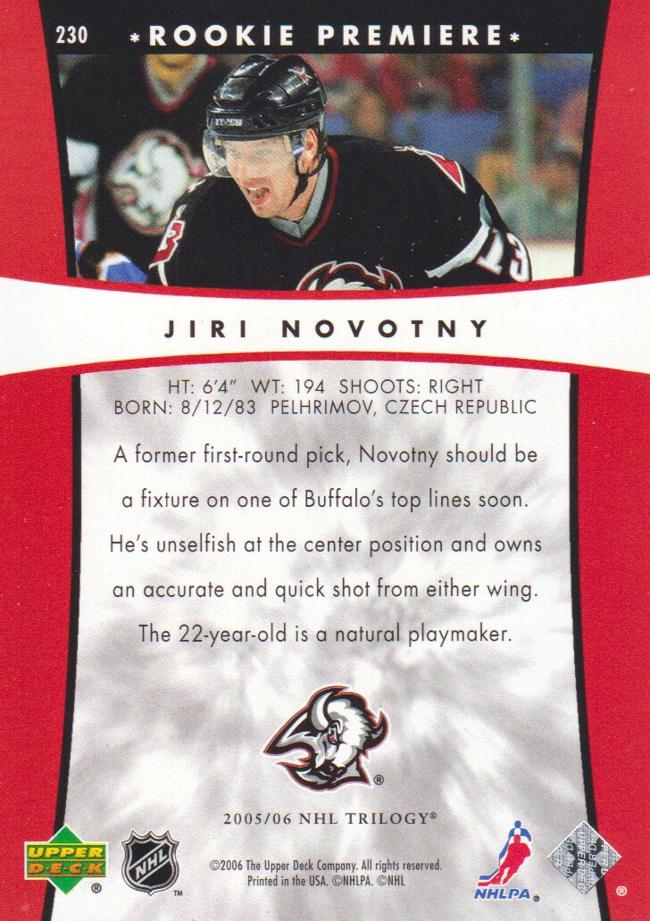 2005-06-Upper-Deck-Trilogy-Hockey-Cards-Pick-From-List thumbnail 65