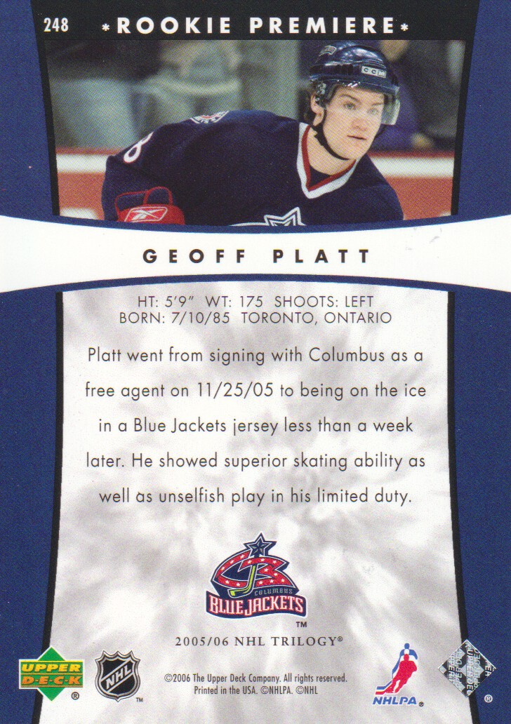 2005-06-Upper-Deck-Trilogy-Hockey-Cards-Pick-From-List thumbnail 69