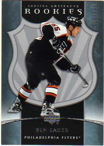 2005-06 Artifacts #309 Ben Eager RC