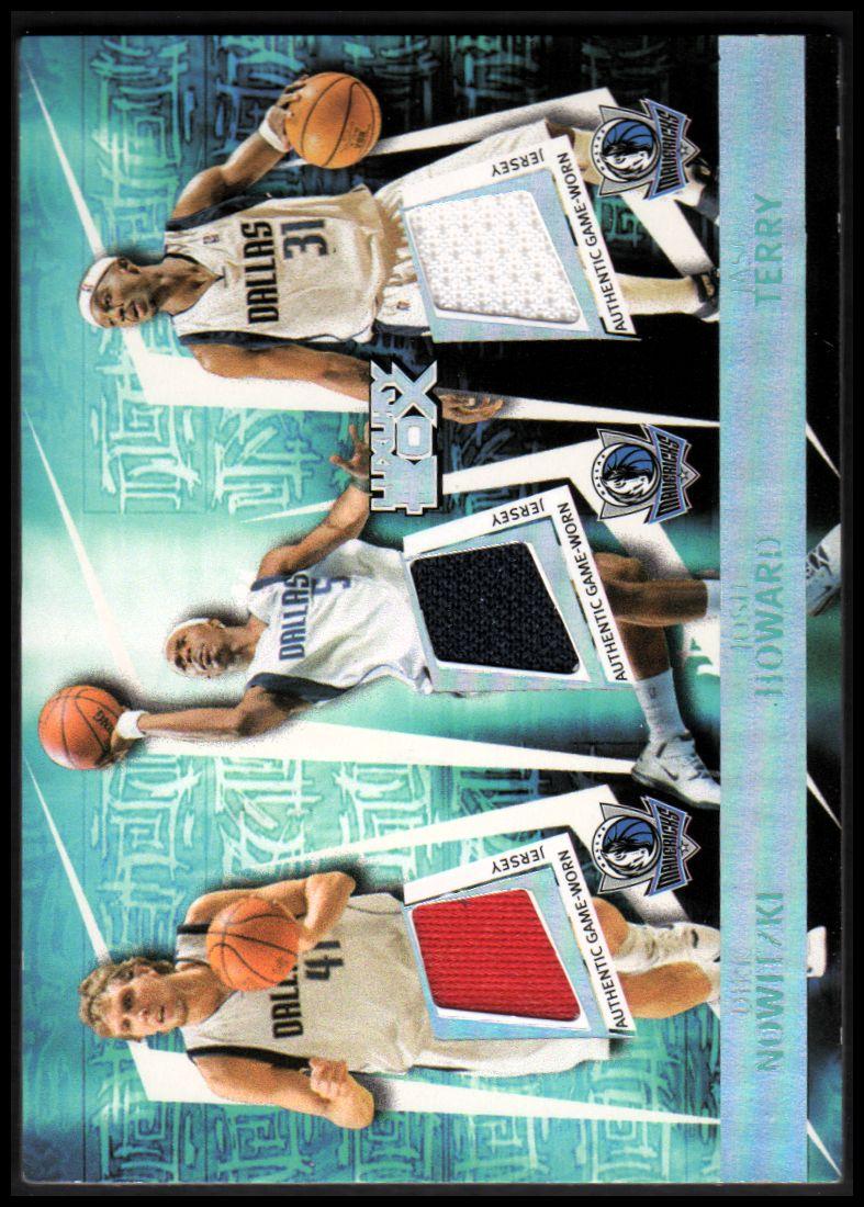 2005-06 Topps Luxury Box Triple Double 5 Relics #7 Dirk Nowitzki/Josh Howard/Jason Terry/Marquis Daniels/Keith Van Horn