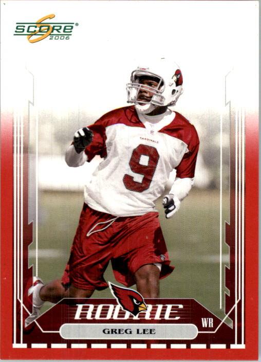 2006 Score Red #353 Greg Lee