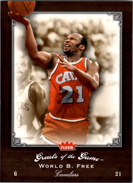 2005-06 Greats of the Game #2 World Free