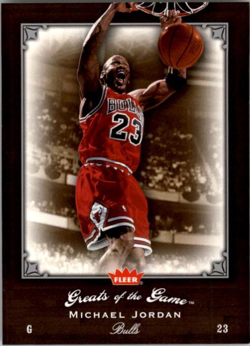 2005-06 Greats of the Game #61 Michael Jordan