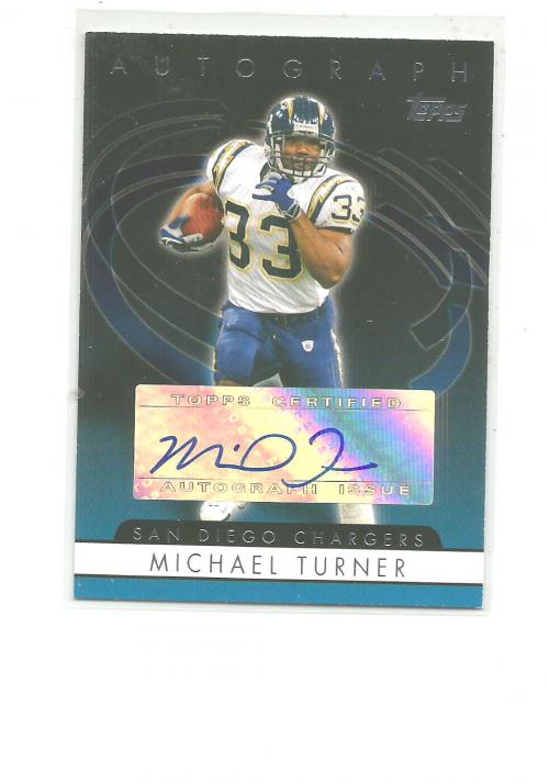 2006 Topps Autographs #TMT Michael Turner G