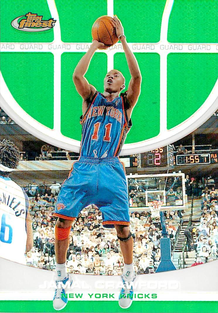 2005-06 Finest Refractors Green #94 Jamal Crawford