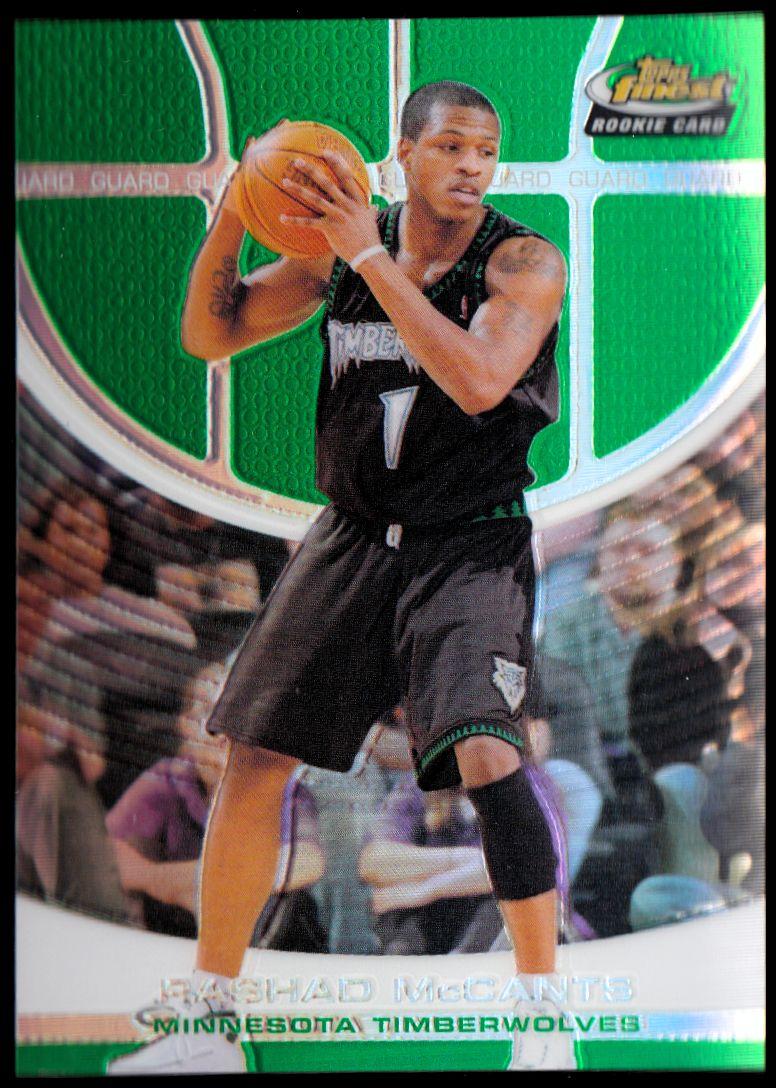 2005-06 Finest Refractors Green #110 Rashad McCants