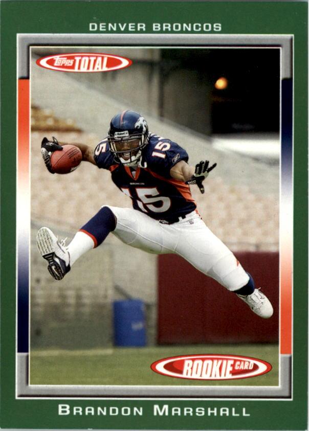 2006 Topps Total #441 Brandon Marshall RC