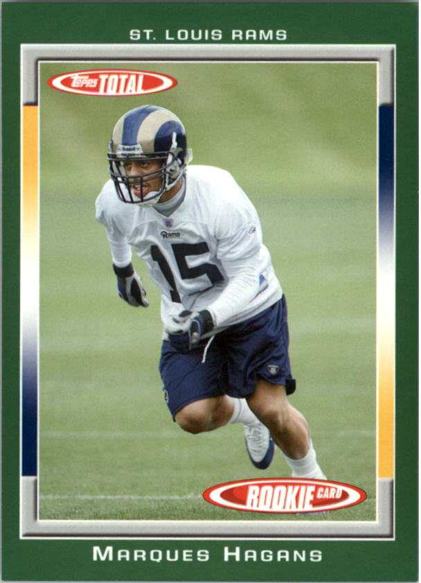 2006 Topps Total #511 Marques Hagans RC